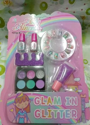 Детский набор косметики. подарок косметики для девочки makeup...