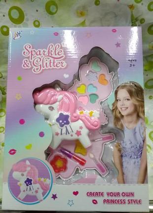 Детский набор косметики. подарок для девочки makeup sparkle &...