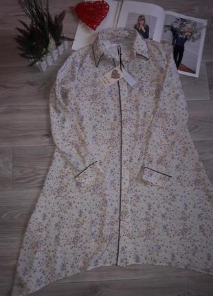 Gamze özkul домашнее платье халат р 36 сток