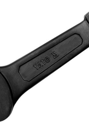 Ударный ключ рожковый 27мм Yato YT-1615