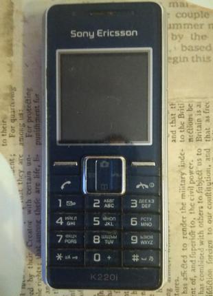 Телефон Sony Ericsson K220i