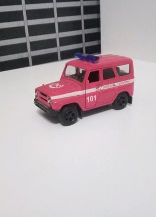 "Іграшка машинка УАЗ ""Хантер"" пожежна охорона"