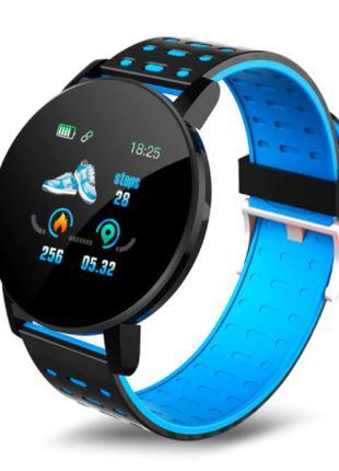 Смарт часы 119 PLUS Blue