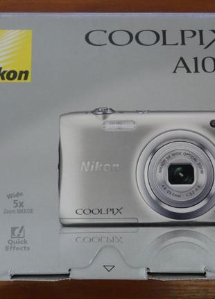 Фотоаппарат Nikon Coolpix A100 Silver не пригодился!