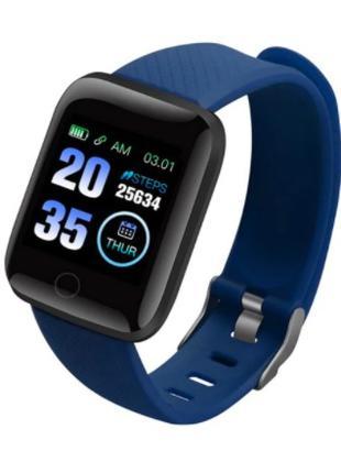 Смарт часы 116 Plus Синий
