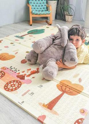 Развивающие развивающий детские коврики для детей, двусторонний