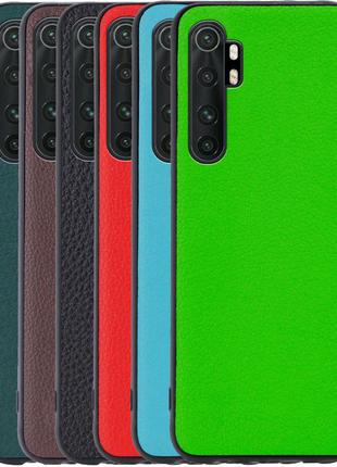Кожаная накладка Epic Vivi series для Xiaomi Mi Note 10 Lite