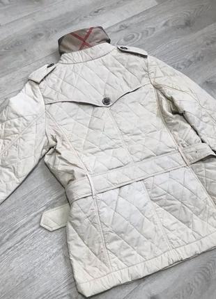 Стеганая куртка burberry не stone island