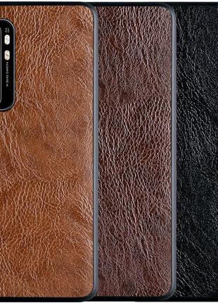 Кожаный чехол PU Retro classic для Xiaomi Mi Note 10 Lite