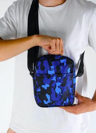 Мужская сумка через плечо мессенджер