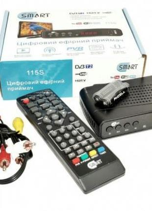 Тюнер Т2 ресивер цифровой SMART DVB-T2 HDTV IPTV Youtube USB W...
