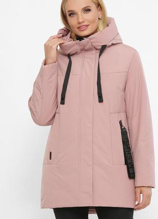 Куртка пудра женская теплая (4xl-54,5xl-56,xl-48,2xl-50,3xl-52)