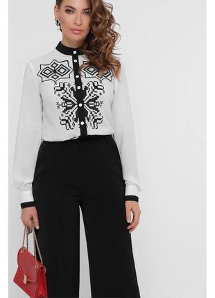Блуза женская с черным узором (персия)