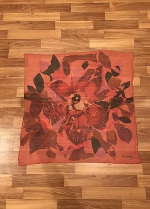 Винтажный платок jeanne lanvin