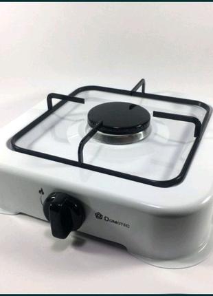 Газовая плита Domotec таганок MS 6601 White
