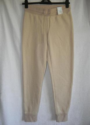 Спортивные новые штаны утепленные,джоггеры  primark