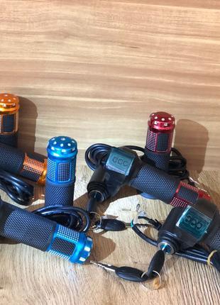Ручка газа + вольтметр + ключ для электровелосипеда электроскутер
