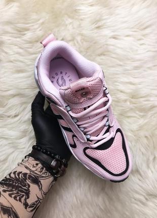 Adidas x naked magmur runner pink white black . женские розовы...