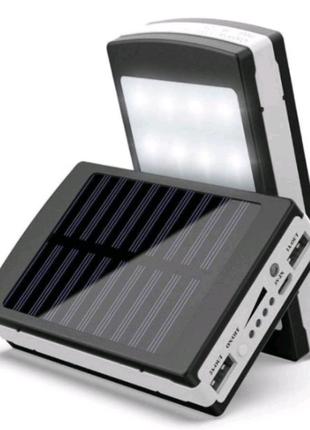 Power bank 50000mah solar внешний аккмулятор повер банк зарядка п