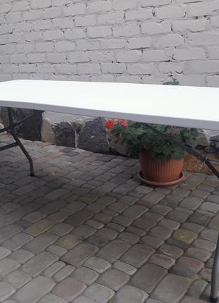 Раскладные стол и лавочки