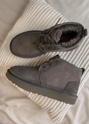 Ботинки UGG Neumel Dark Grey