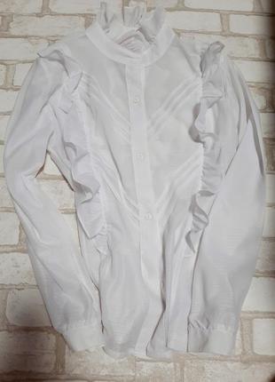 Блузка рюши