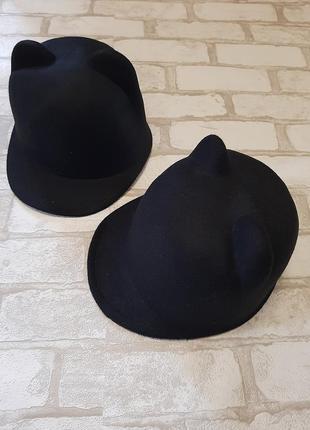 Шапка кошка,шапка с ушками