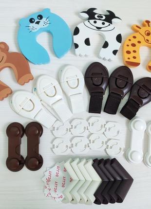 Наборы защиты для детей на мебель, 8 разных комплектов !