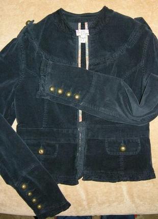 Оригинальный черный пиджак