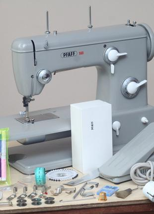 Швейна машина Pfaff 360 Кожа Германия 1960 год - Состояние!