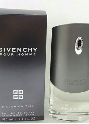 Мужская туалетная вода Givenchy Pour Homme Silver Edition 100 мл