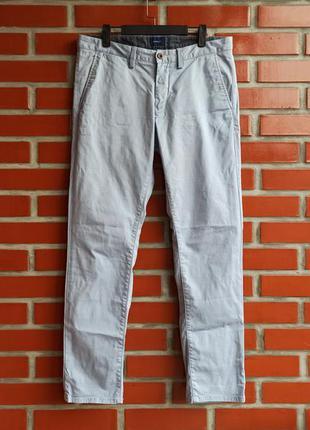 Gant голубые брюки чиносы джинсы размер 33
