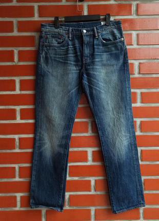 Levi's 511 мужские синие джинсы размер 33