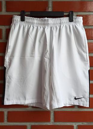 Nike tennis мужские белые шорты размер м