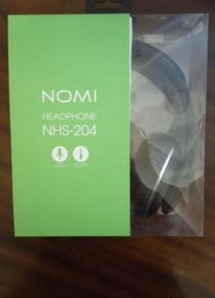 Наушники Nomi NHS-204