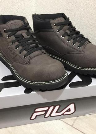 Fila ботинки кроссовки кеды мужские