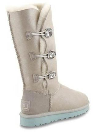 "Женские угги ugg bailey button triplet ii boot ""i do"""