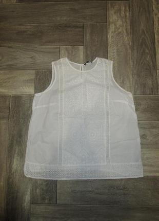 Невесомая  блузка прошва