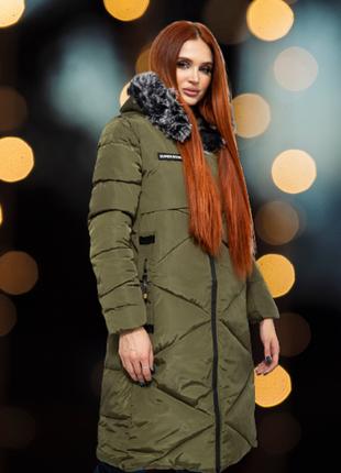 Куртка женская цвет хаки