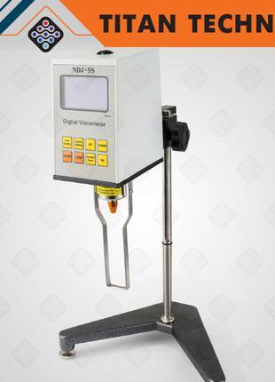 Вискозиметр, ротационный тестер вязкости NDJ-5S, реометр