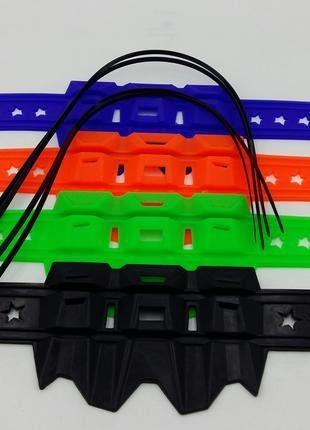 Защитная накладка на глушитель кросс/ эндуро YAMAHA BAJAJ HONDA B