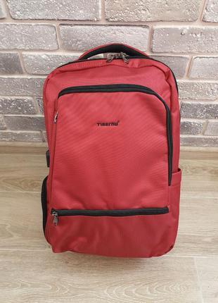 Новый городской рюкзак tigernu t-b3585 необычного цвета красно...