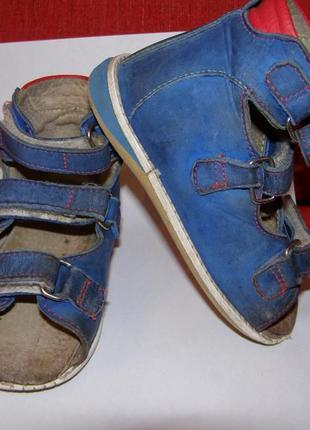 Обувь ортопедическая детская с пронатором
