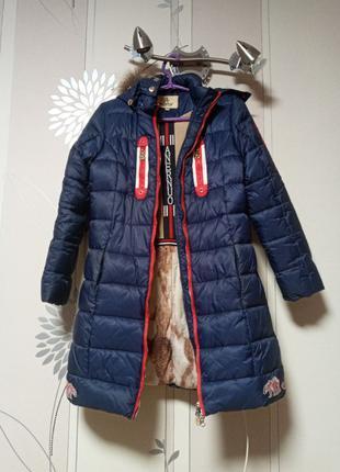 Зимний пуховик, пальто на девочку