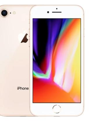 Apple IPhone 8 Plus Gold 128 Gb Новый Оригинал Neverlock