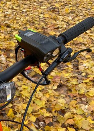 Велосипедная фара, для вело фонарь, велосипед, велофара, 4000 mAh