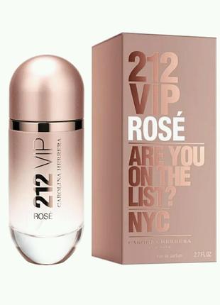 Женская парфюмированная вода Carolina Herrera 212 Vip Rose