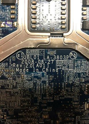 Материнская плата ноутбука Dell Latitude E6400. JBL01 LA-3803P