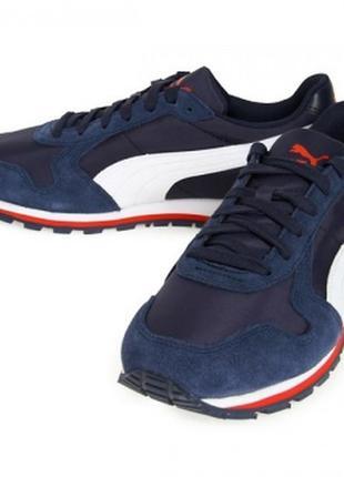 Кроссовки для бега st runner nl jr 358770 03 puma пума беговые...