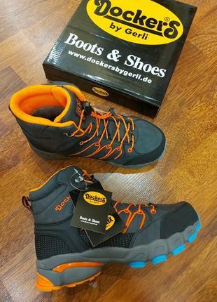 Зимние ботинки dockers 34